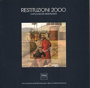 Restituzioni 2000 Capolavori restaurati: AA.VV