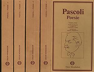 Poesie (4 Volumi): Giovanni Pascoli
