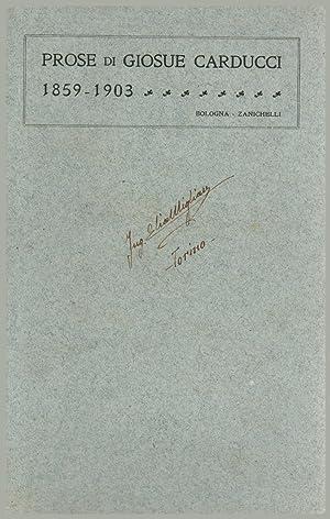 Carducci, Giosuè (27 July 1835 - 16 February 1907)