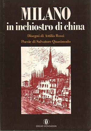 Milano in inchiostro di china: Salvatore Quasimodo, Attilio