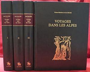 Voyages dans les Alpes précédés de Mémoire: SAUSSURE, Horace-Bénédict de.