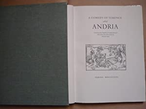 A comedy of Terence called Andria. Translated: Publio Terenzio Afro