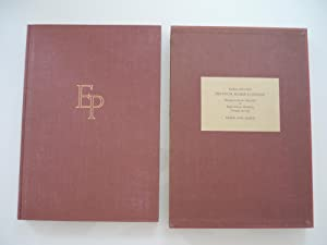 Dyptych Rome- London. Homage to Sextus Propertius & Hugh Selwyn Mauberley, Contact and Life.Veron...