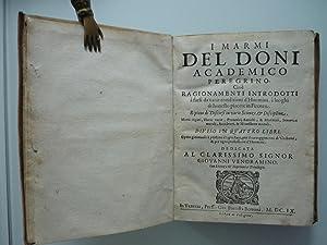 I marmi del Doni academico peregrino, cioè: Doni, Anton Francesco