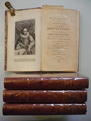 The history and adventures of the renowned Don Quixote.translated.by T.Smollett, M.D.Dublin,John ...