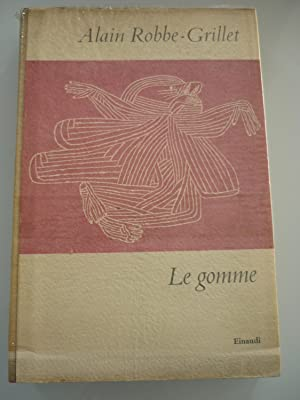 Le gomme: Robbe-Grillet, Alain