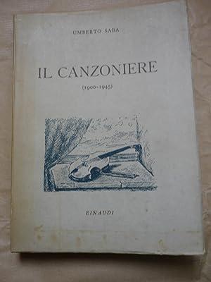 Il canzoniere (1900 - 1945): Saba,Umberto