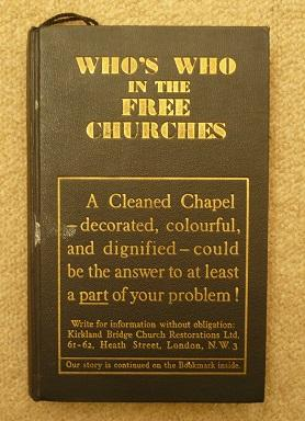 Who's Who in the Free Churches (And Other Denominations)