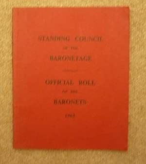 Official Roll of the Baronets 1962