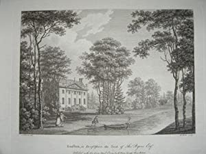 Original Antique Engraving Illustrating Ranston in Dorsetshire. By W. Watts and Published in 1779.