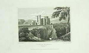 Original Antique Engraving Illustrating Castle Richard in Waterford, The Seat of Henry Bush, Esq.