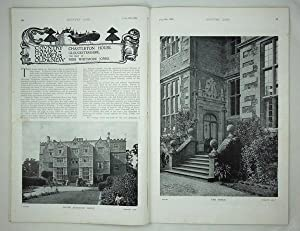 Original Issue of Country Life Magazine Dated July 19th 1902, with a Main Feature on Chastleton H...