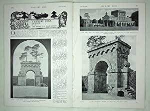 Original Issue of Country Life Magazine Dated September 3rd 1927 with a Main Feature on Eastbury ...