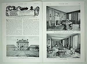 Original Issue of Country Life Magazine Dated May 26th 1934 with a Feature on Nether Lypiatt (par...