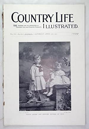 Original Issue of Country Life Magazine Dated April 21st 1900, with a Main Feature on Kingston Lacy...