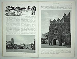 Original Issue of Country Life Magazine Dated July 1st 1916, with a Main Feature on Howth Castle ...