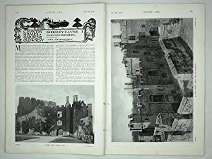 Original Issue of Country Life Magazine Dated July 29th 1916, with a Main Feature on Berkeley Cas...
