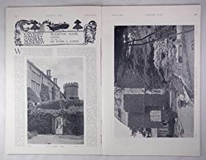 Original Issue of Country Life Magazine Dated March 8th 1902, with a Main Feature on Wolfeton Hou...