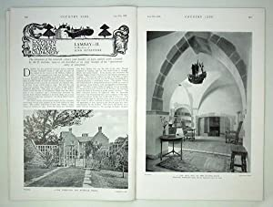 Original Issue of Country Life Magazine Dated July 27th 1929, with a Main Feature on Lambay (part...
