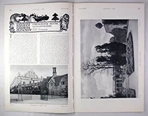 Original Issue of Country Life Magazine Dated August 8th 1908, with a Main Feature on Cirencester...