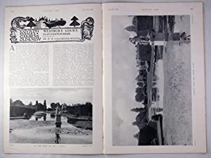 Original Issue of Country Life Magazine Dated December 19th 1908, with a Main Feature on Westbury...