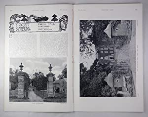 Original Issue of Country Life Magazine Dated February 19th 1910, with a Main Feature on Emral Hall...