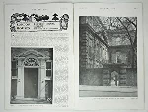 Original Issue of Country Life Magazine Dated: Original Issue of