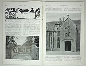 Original Issue of Country Life Magazine Dated April 15th 1911, with a Main Feature on Chavenage i...