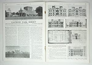 Original Issue of Country Life Magazine Dated December 31st 1948 with a Main Feature on Eastbury ...