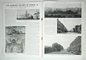 Original Issue of Country Life Magazine Dated November 1st 1946 with a Main Feature on The Georgi...
