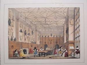 A Fine Original Hand Coloured Lithograph Illustration: Original Antique Colour