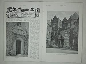 Original Issue of Country Life Magazine Dated November 25th 1911, with a Feature on Stanton Court...