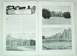 Original Issue of Country Life Magazine Dated: Original Early Issue