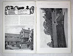 Original Issue of Country Life Magazine Dated June 9th 1900, with a Main Feature on Bingham's Mel...
