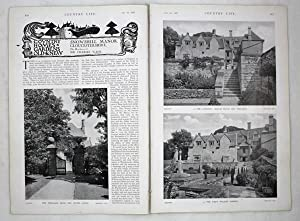 Original Issue of Country Life Magazine Dated October 27th 1927, with a Main Feature on Snowshill...