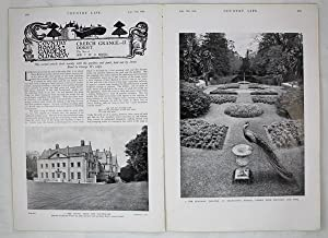 Original Issue of Country Life Magazine Dated September 12th 1931 with a Main Feature on Creech G...
