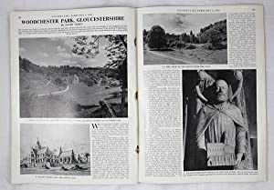 Original Issue of Country Life Magazine Dated February 6th 1969, with a Main Feature on Woodchest...