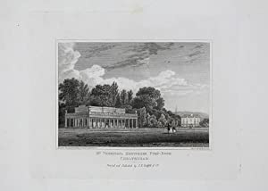 Antique Engraved Print Illustrating Mr Thompson's Montpelier Pump Room in Cheltenham, Published i...
