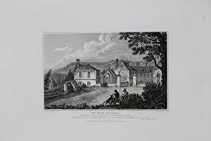 Antique Engraved Print Illustrating Dowdeswell House in Gloucestershire, Published in 1826.