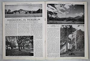 Original Issue of Country Life Magazine Dated December 20th 1946 with a Main Feature on Powerscou...