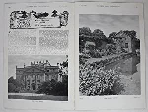 Original Issue of Country Life Magazine Dated November 11th 1899, with a Main Feature on Kings We...