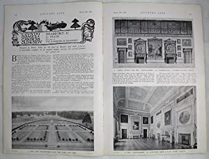 Original Issue of Country Life Magazine Dated March 28th 1936 with a Main Feature on Headfort (Pa...