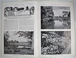 Original Issue of Country Life Magazine Dated April 4th 1936 with a Main Feature on Headfort (Par...