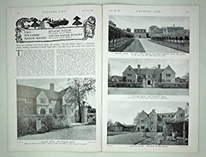 Original Issue of Country Life Magazine for: Early Original Issue