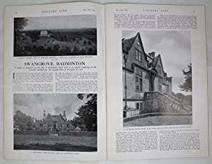 Original Issue of Country Life Magazine Dated December 16th 1939, with a Main Feature on Swangrov...