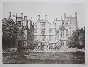 Original Antique Photo Lithograph Illustrating Sherborne Castle (The Lodge) in Dorset. Published ...