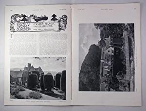 Original Issue of Country Life Magazine Dated October 6th 1906 with a Main Feature on Owlpen Mano...