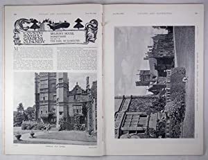 Original Issue of Country Life Magazine Dated August 19th 1899, with a Main Feature on Melbury Ho...