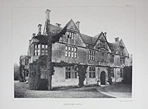 A Photographic Illustration of Hanford House in Dorset. Published in 1891.