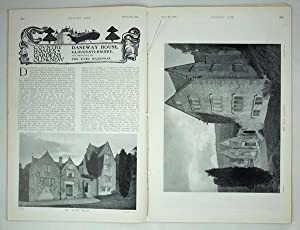 Original Issue of Country Life Magazine Dated March 6th 1909, with a Main Feature on Daneway Hous...